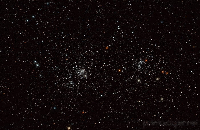 NGC 884 and NGC 896 - Double Cluster