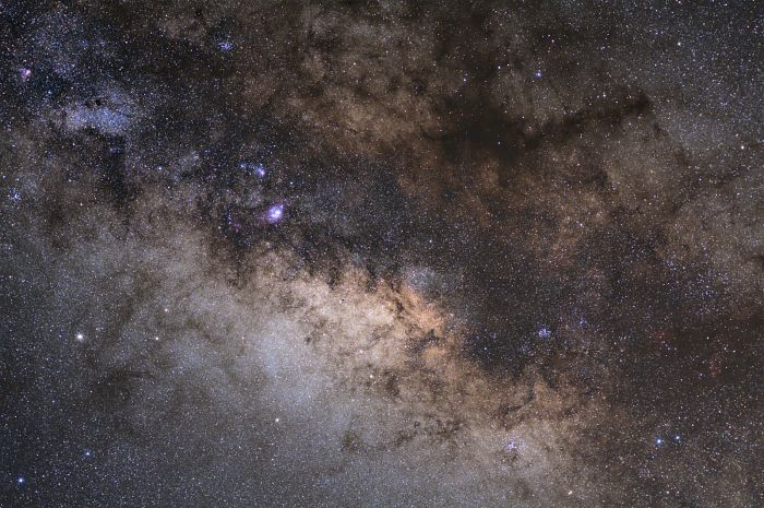 Milky Way in region of Sagittarius
