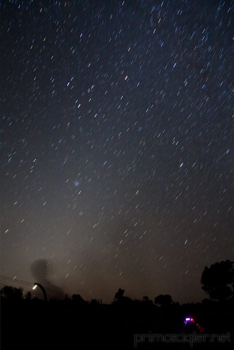 Zodiacal light on Lastovo